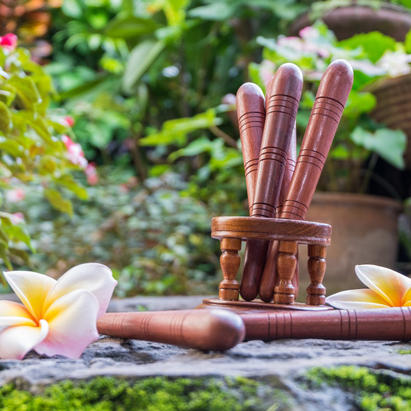 Wood Stick For Foot Massage And Reflexology